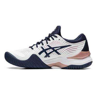 Asics Court FF 2 Womens Tennis Shoe White/Peacoat 1042A076 102