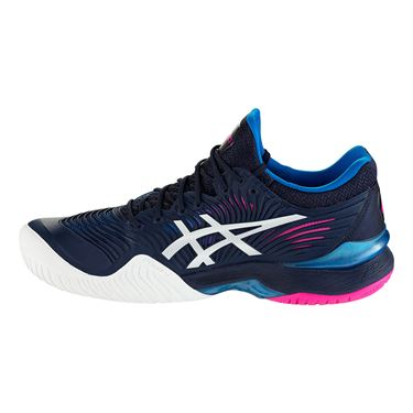 Asics Court FF 2 Womens Tennis Shoe -  Peacoat/White