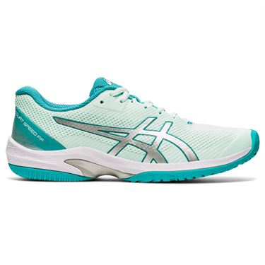 Asics Court Speed FF Womens Tennis Shoe Bio Mint/Pure Silver 1042A080 301