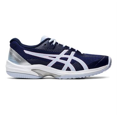 Asics Court Speed FF Womens Tennis Shoe Peacoat/Soft Sky 1042A080 401