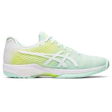 Asics Solution Speed FF LE Modern Tokyo Womens Tennis Shoe Mint/White 1042A101 300
