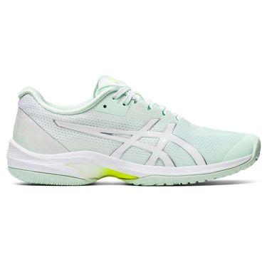 Asics Court Speed FF LE Modern Tokyo Womens Tennis Shoe Mint/White 1042A106 300