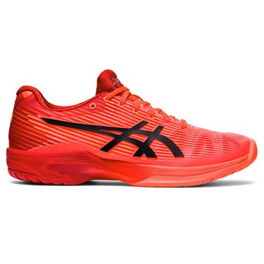 Asics Solution Speed FF Womens Tennis Shoe Tokyo Sunrise Red/Eclipse Black 1042A126 701