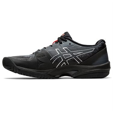 Asics Court Speed FF LE Womens Tennis Shoe Black/Sunrise Red 1042A127 010