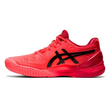 Asics Gel Resolution 8 Womens Tennis Shoe Tokyo Sunrise Red/Eclipse Black 1042A131 701