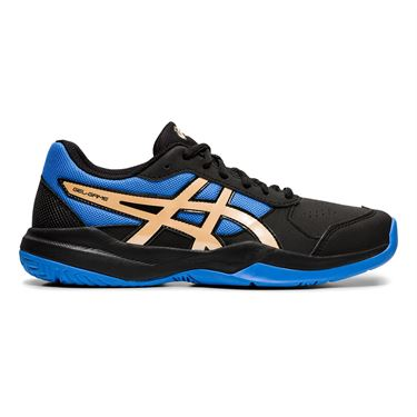 Asics Junior Gel Game 7 GS Tennis Shoe Black/Champagne 1044A008 012