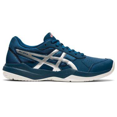 Asics Gel Game 7 GS Junior Tennis Shoe Mako Blue/Pure Silver 1044A008 402