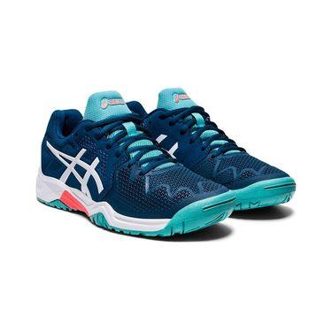 Asics Resolution 8 GS Junior Tennis Shoe