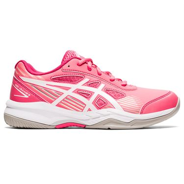 Asics Junior Gel Game 8 GS Tennis Shoe Pink Cameo/White 1044A025 700