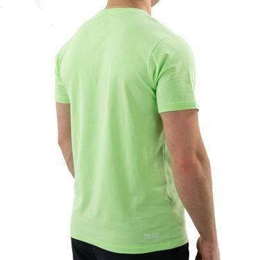 K Swiss Hypercourt Logo Tee Shirt Mens Soft Neon Green 104912 332