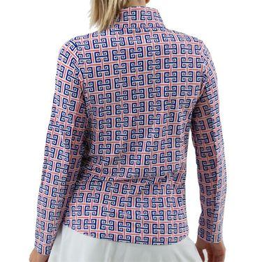 IBKU Long Sleeve ¼ Zip Mock Top