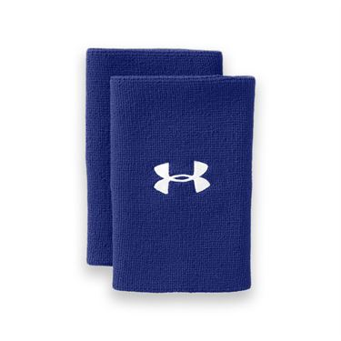 Under Armour 6 Inch Performance Wristband - Royal