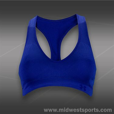 Under Armour Seamless Plunge Bra -Siberian Iris