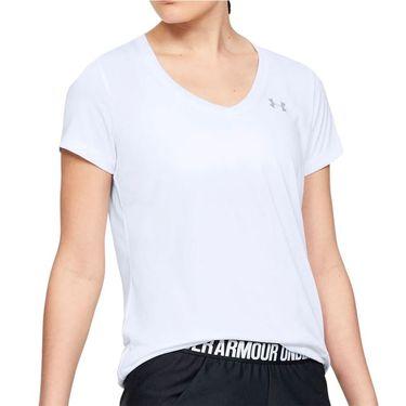 Under Armour Tech Short Sleeve Top - White