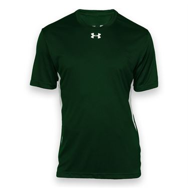 Under Armour Team Zone Crew - Forest Green/White
