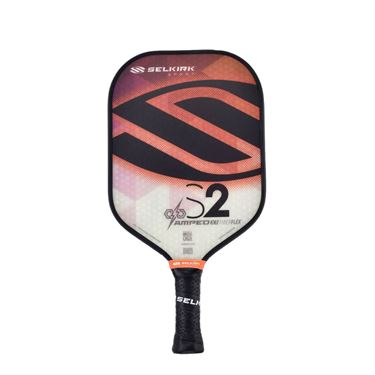 Selkirk Amped S2 Midweight Pickleball Paddle - Fire Opal Orange