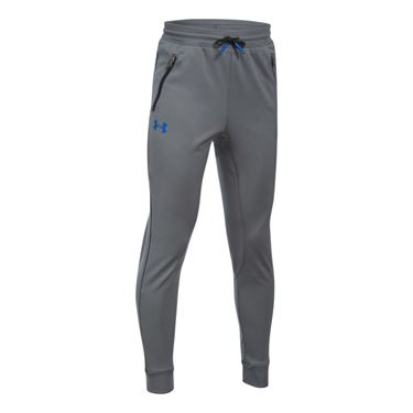 Under Armour Boys Pennant Tapered Pant - Graphite/Black/Ultra Blue