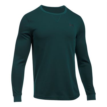 Under Armour Waffle Long Sleeve - Arden Green/Graphite