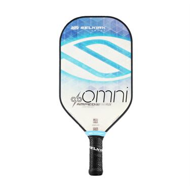 Selkirk Amped Omni Midweight Pickleball Paddle - Aqua