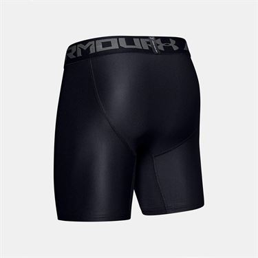 Under Armour Heat Gear 2.0 Compression Short Mens Black/Graphite 1289566 001