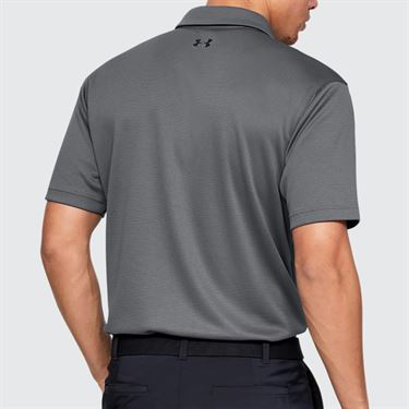Under Armour Tech Polo - Graphite/Black