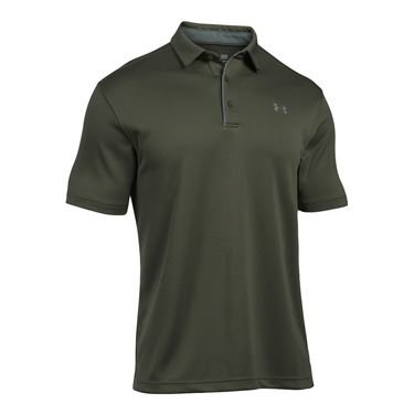 Under Armour Tech Polo - Downtown Green