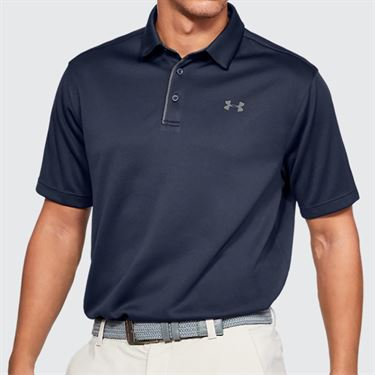Under Armour Tech Polo - Midnight Navy/Graphite