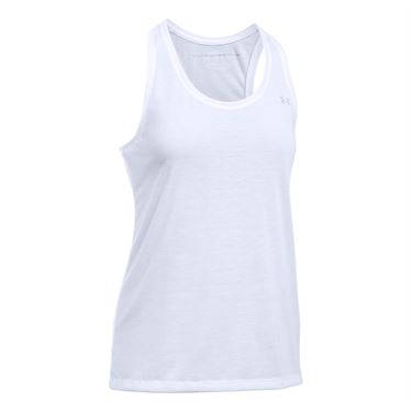 Under Armour Threadborne Train Tank - White