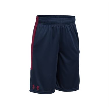 Under Armour Boys Instinct Short - Midnight Navy/Black Currant