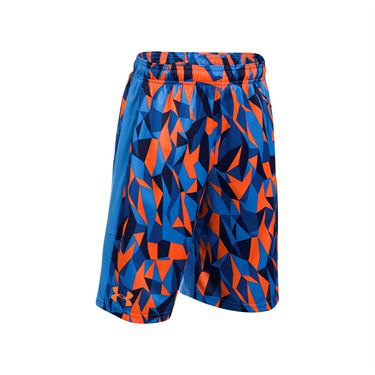 Under Armour Boys Instinct Printed Short - Mako Blue