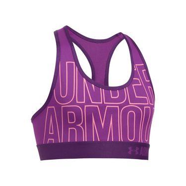 Under Armour Girls Graphic Armour Bra - Purple Rave