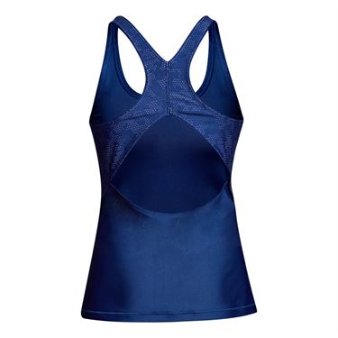 Under Armour Heatgear Fashion Tank - Formation Blue/Metallic Silver