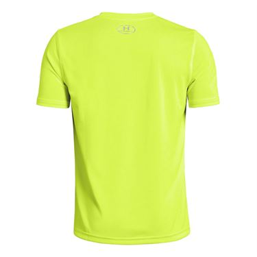 Under Armour Boys Locker Tee Yellow/Black 1305845 731