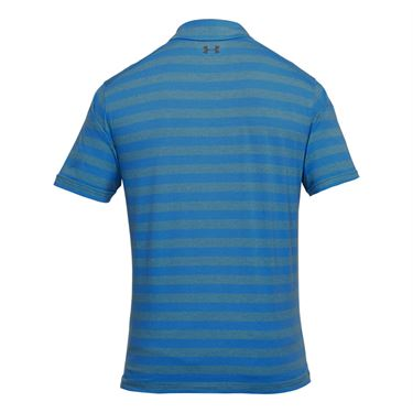 Under Armour CC Scramble Stripe Polo - Mediterranean/Rhino Gray