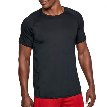 Under Armour MK 1 Crew Shirt Mens Black/Gray 1306428 001