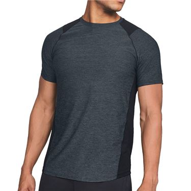 Under Armour MK 1 Crew Shirt Mens Black/Gray 1306428 002