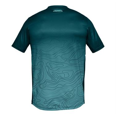Under Armour Forge V Neck Novelty Shirt - Tourmaline Teal/Tropical Tide