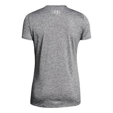 Under Armour Tech Graphic Twist Top - Graphite/Formation Blue/Metallic Silver
