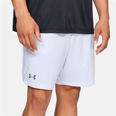 Under Armour Pocketed Raid Short - White