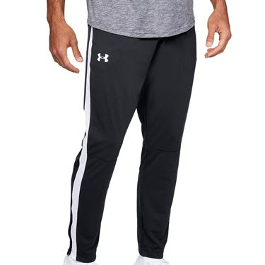 Under Armour Sportstyle Pique Track Pant Mens Black/White 1313201 001