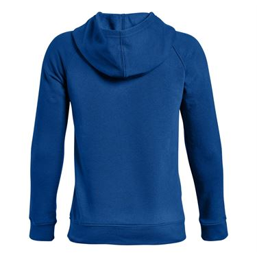Under Armour Boys Rival Logo Hoodie - Royal/Black