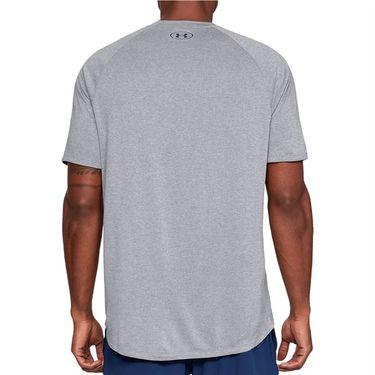 Under Armour Tech Tee Shirt Mens High Vis Yellow/Black 1326413 731