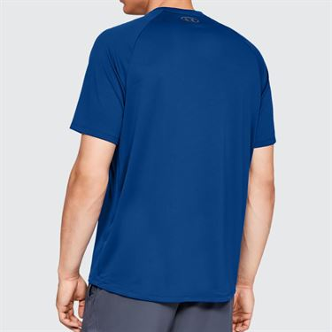 Under Armour Tech 2.0 Crew - Royal/Graphite