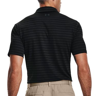 Under Armour Playoff Polo - Black/Jet Gray