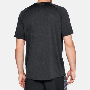 Under Armour Tech 2.0 V Neck Shirt Mens Black/Graphite 1328190 001