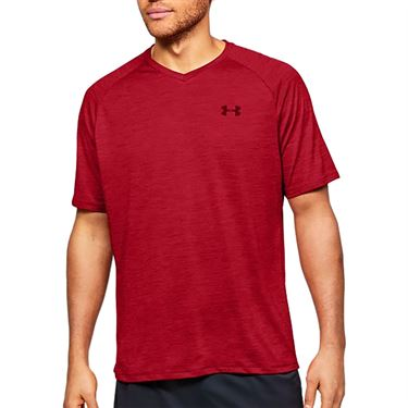 Under Armour Tech 2.0 V Neck Shirt Mens Cordova/Beta 1328190 615