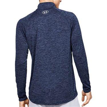 Under Armour Tech 2.0 1/2 Zip Long Sleeve Pullover Mens Blue Ink/Mod Gray 1328495 497