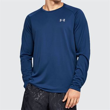 Under Armour Tech 2.0 Long Sleeve Shirt Mens American Blue/Mod Gray 1328496 449