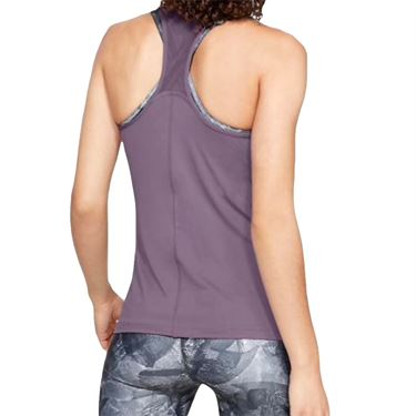 Under Armour Womens Racer Tank -Purple Prime/Metallic Silver
