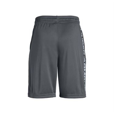 Under Armour Boys Prototype Wordmark Short - Pitch Gray/Black